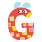 Crazy Animals Letter G (One Supplied - Designs Vary)