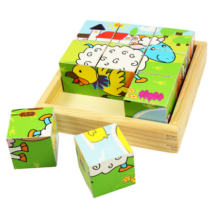 Animal Cube Puzzle picture
