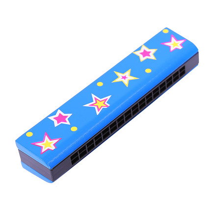 Snazzy Harmonica (Blue) picture