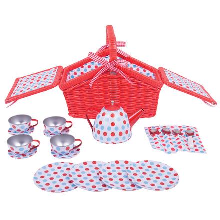Spotted Basket Tea Set picture