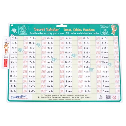 Times Tables Random with Secret Decoder picture