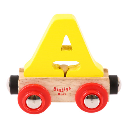 Rail Name Letter A (Yellow) picture