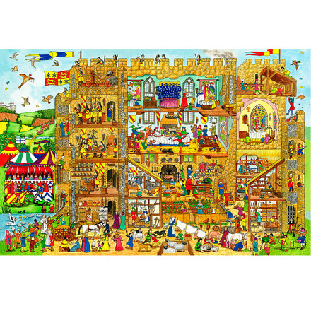 Castle Floor Puzzle (24 Piece) picture