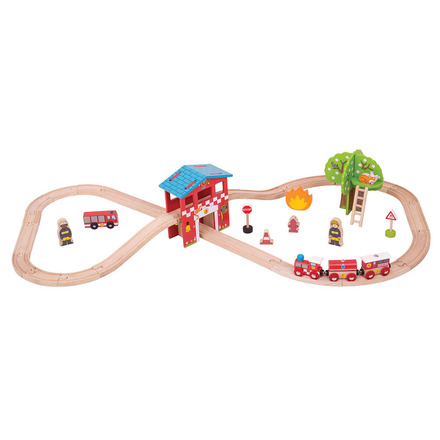 Fire Station Train Set picture