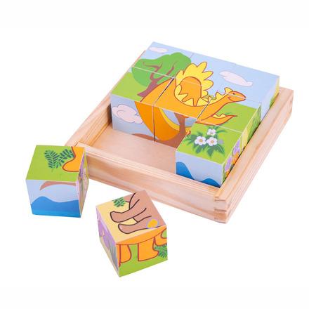 Dinosaur Cube Puzzle picture