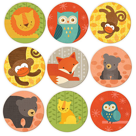 Animals and Babies Memory Game picture