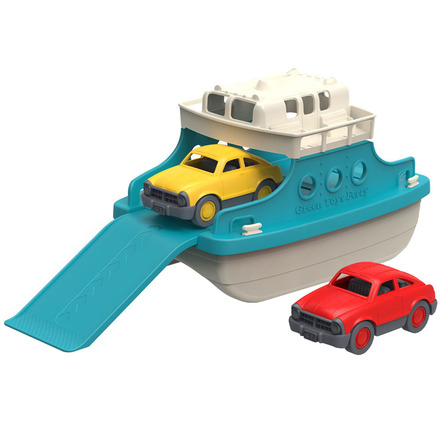 Ferry Boat with Cars picture