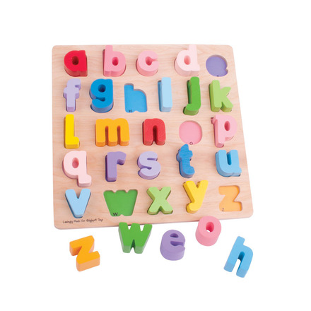Chunky Alphabet Puzzle (Lowercase) picture
