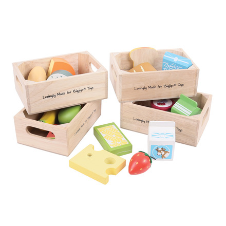 Healthy Eating Dairy Food Set picture