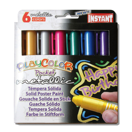 Metallic Pocket 5g (Pack of 6 - Assorted Colours) picture