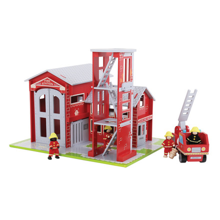 Heritage Playset Fire Station and Engine picture