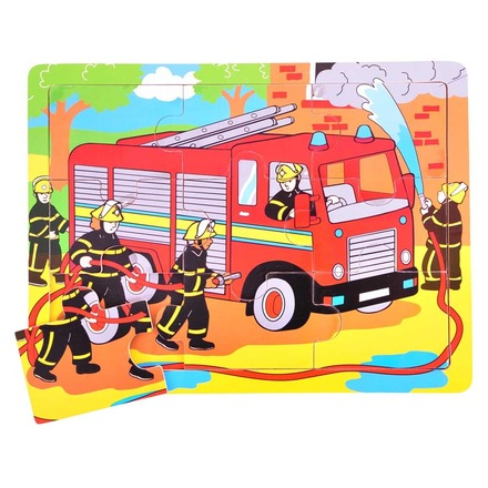 Tray Puzzle Fire Engine picture