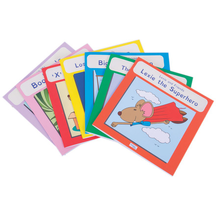 Phonic Coloured Book Band (Pack of 7) picture