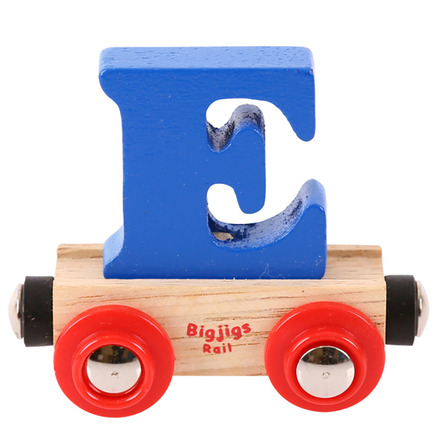 Rail Name Letter E (Dark Blue) picture
