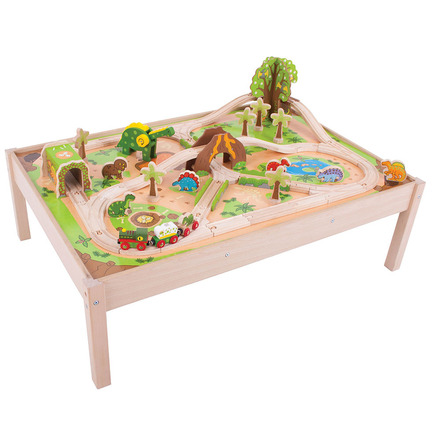 Dinosaur Train Set and Table picture