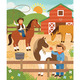 At The Ranch 64-Piece Tin Canister Puzzle