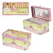 Enchantmints Ballet Shoes Musical Treasure Box