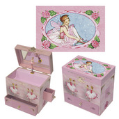 Enchantmints Ballerina Musical Treasure Box