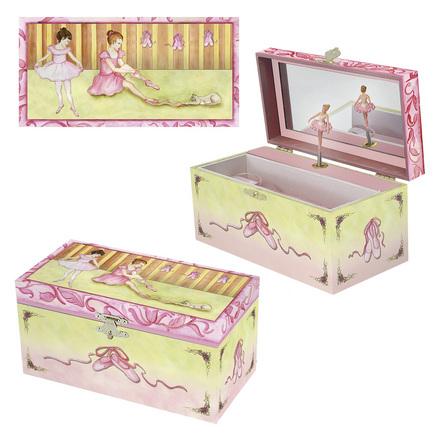Enchantmints Ballet Shoes Musical Treasure Box picture