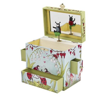Enchantmints Ladybug Musical Treasure Box picture
