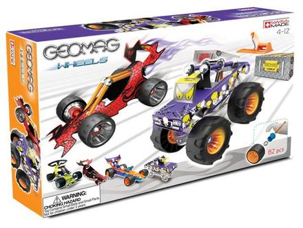 Geomag Wheels Deluxe Race Set - 62 pcs picture