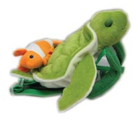 Safe-2-Go Children's Safety Harness Sea Turtle with Clown Fish picture