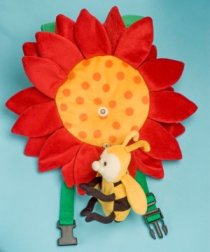 Safe-2-Go Children's Safety Harness Flower and Bee picture