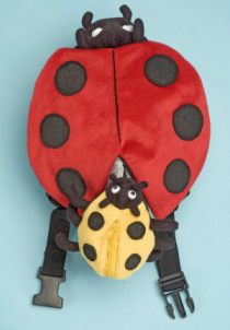 Safe-2-Go Children's Safety Harness Lady Bug with Baby Bug picture