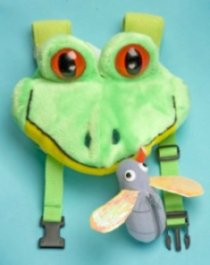 Safe-2-Go Children's Safety Harness Frog and Fly picture