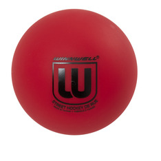 STREET HOCKEY BALL 65MM 50G HARD RED