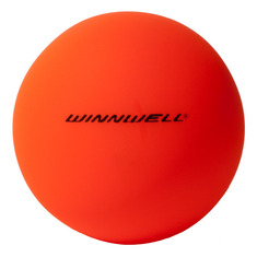 STREET HOCKEY BALL 65MM 50G SOFT ORANGE