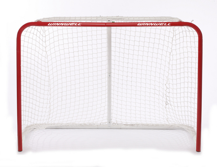 "HOCKEY NET 60"" W/ 1.25"" POSTS picture"