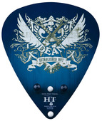Guitar Hanger Pick - Blue