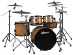 Reflex Series Mappa Burl 5 piece Drum Set