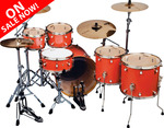 Paladin Maple - Uptown - 22  6 Vintage Coral Sparkle