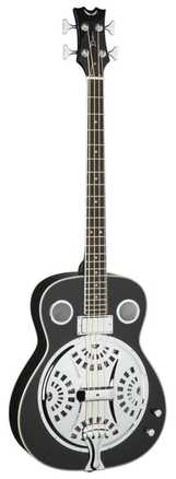 Resonator Acoustic/Electric Bass - Classic Black picture