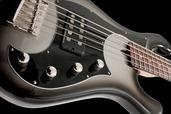USA 1000 Hillsboro 5 String Single Pickup - Silverburst