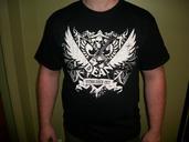 Dean Crest White Logo Tee