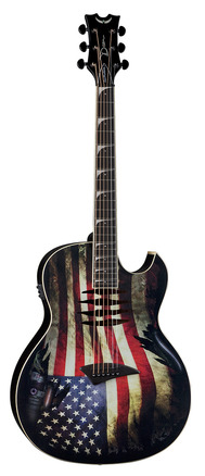 Mako Dave Mustaine A/E USA Flag picture
