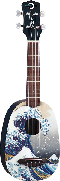 Ukulele Great Wave Soprano w/ gigbag picture