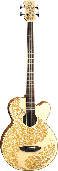 Henna Paradise Acoustic/Electric Bass picture