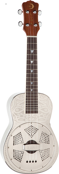 Ukulele Concert Resonator Tiki picture