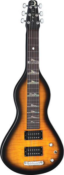 Lap Steel Mahogany Hawaiian Electric picture