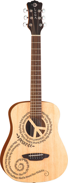 Safari Peace Travel Guitar w/ gigbag picture