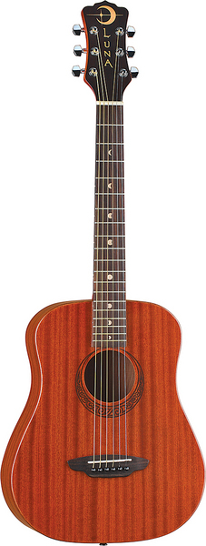 Safari Muse Travel Guitar Mahogany w/bag picture