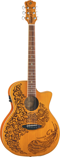 Henna Paradise Acoustic/Electric Cedar picture