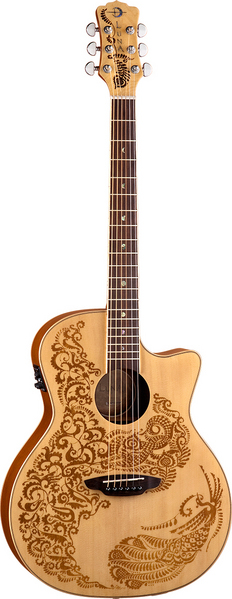 Henna Paradise Acoustic/Electric Spruce picture