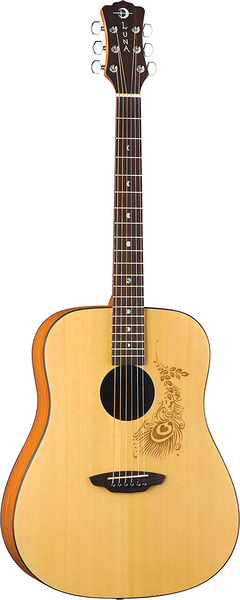 Gypsy Henna dreadnought acoustic picture