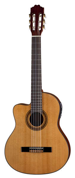Espana Solid Top Cutaway A/E Lefty picture
