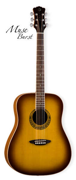 Muse Dreadnought Satin Burst / Mahogany picture